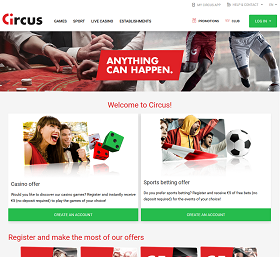 Circus The Belgian Online Casino That Brings A Smile To The Face