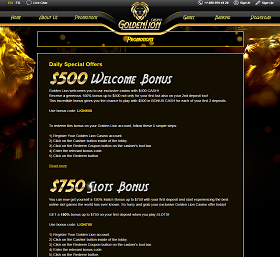 golden-lion-casino-bonuses